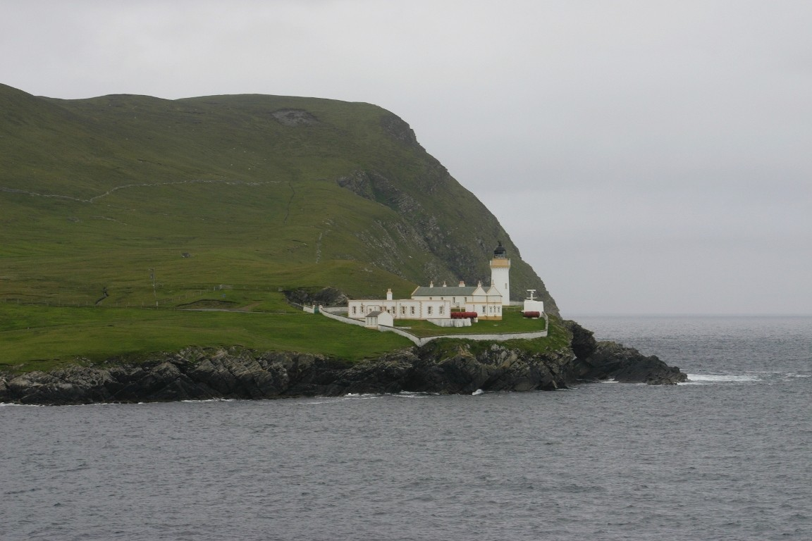Lighthouse On Bressay