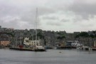 Lerwick Overshadowed By Giant Yacht