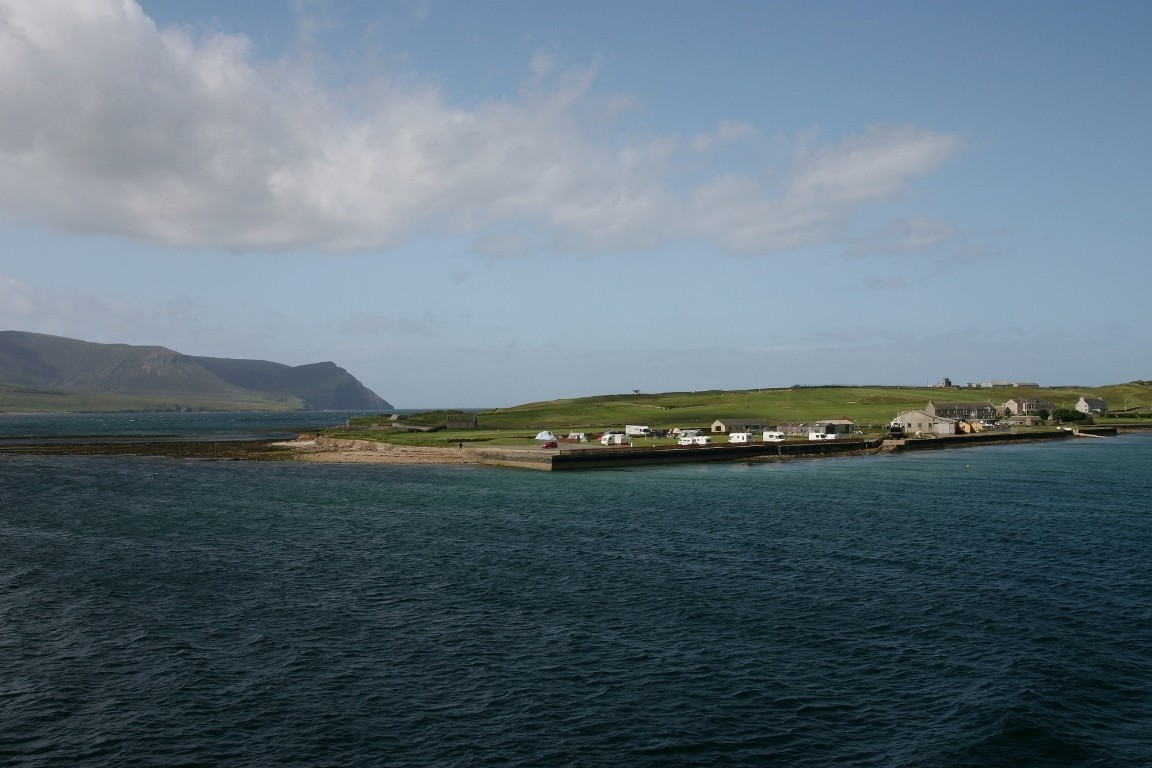 Our Very Exposed Campsite, Stromness, Mainland Orkney