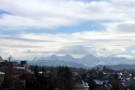 View From Bundesterrasse, Bern, Alps In Background
