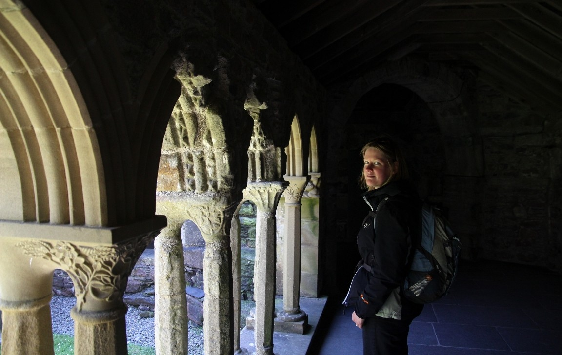 Debbie, Iona Abbey