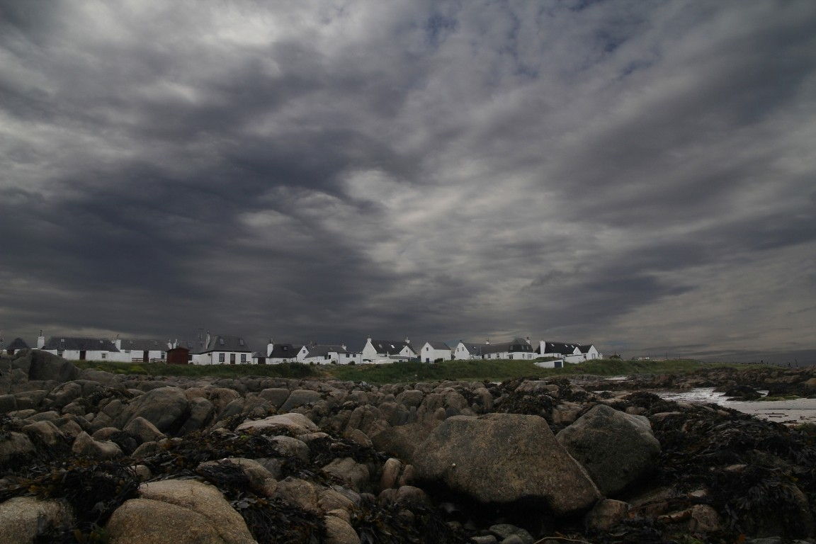 Cottages From Beach, Tiree