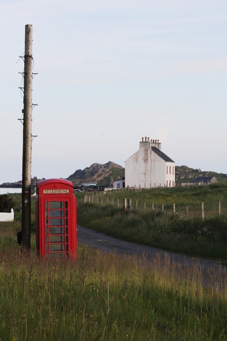 Outside Cottage, Tiree