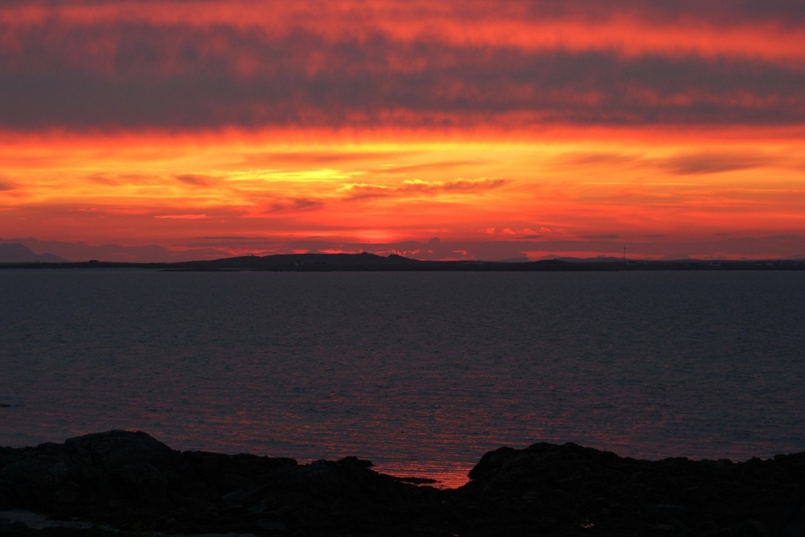 Sunrise From Cottage, Tiree