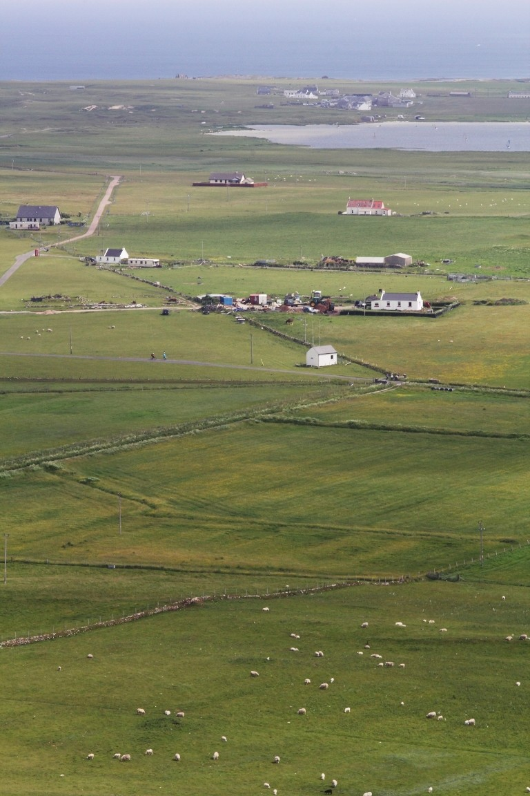 View From Beinn Hough, Tiree