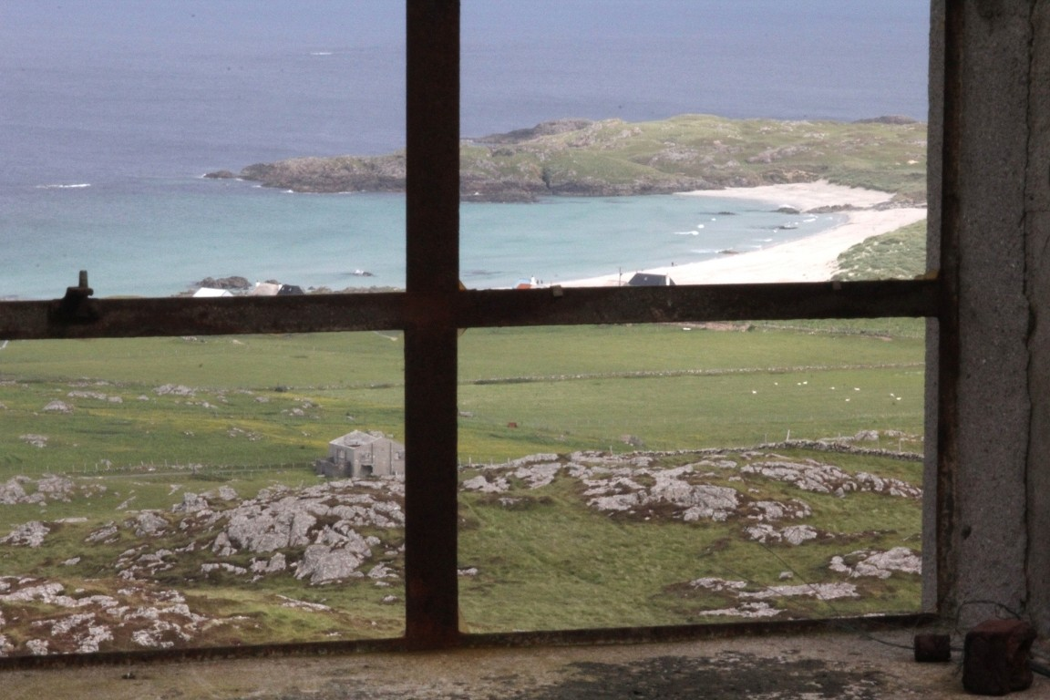 View From Derelict Lookout Post, Beinn Hough, Tiree