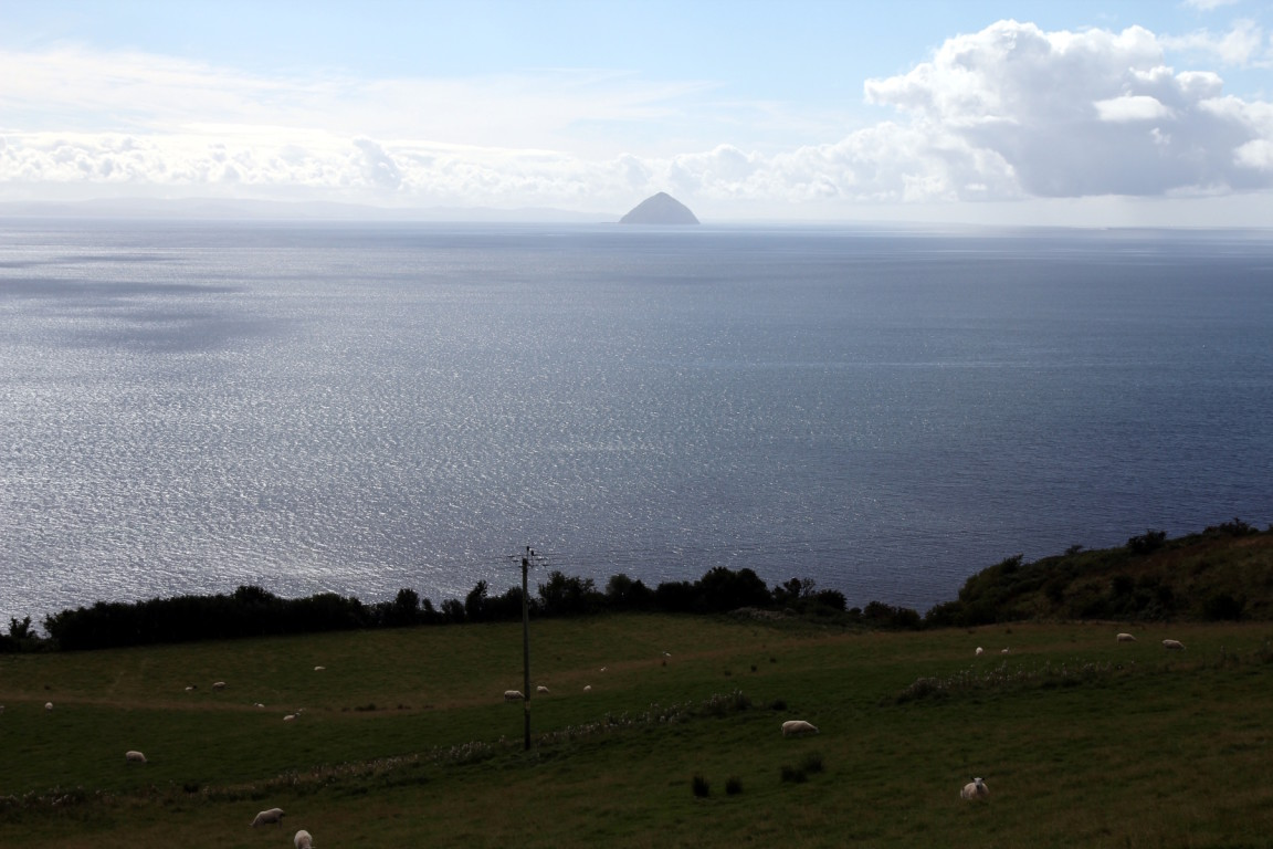 Ailsa Craig From Near Laigh Kilmory, Arran