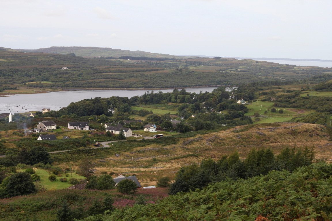 Overlooking Dervaig, Mull