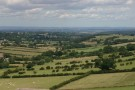 Looking Out Towards Harrogate From Almscliff Crag