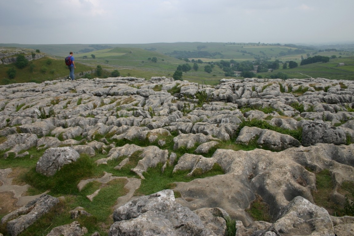 Nick On Top Of Malham Cove