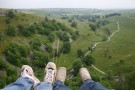 Nick And Alina's Feet On Top Of Malham Cove