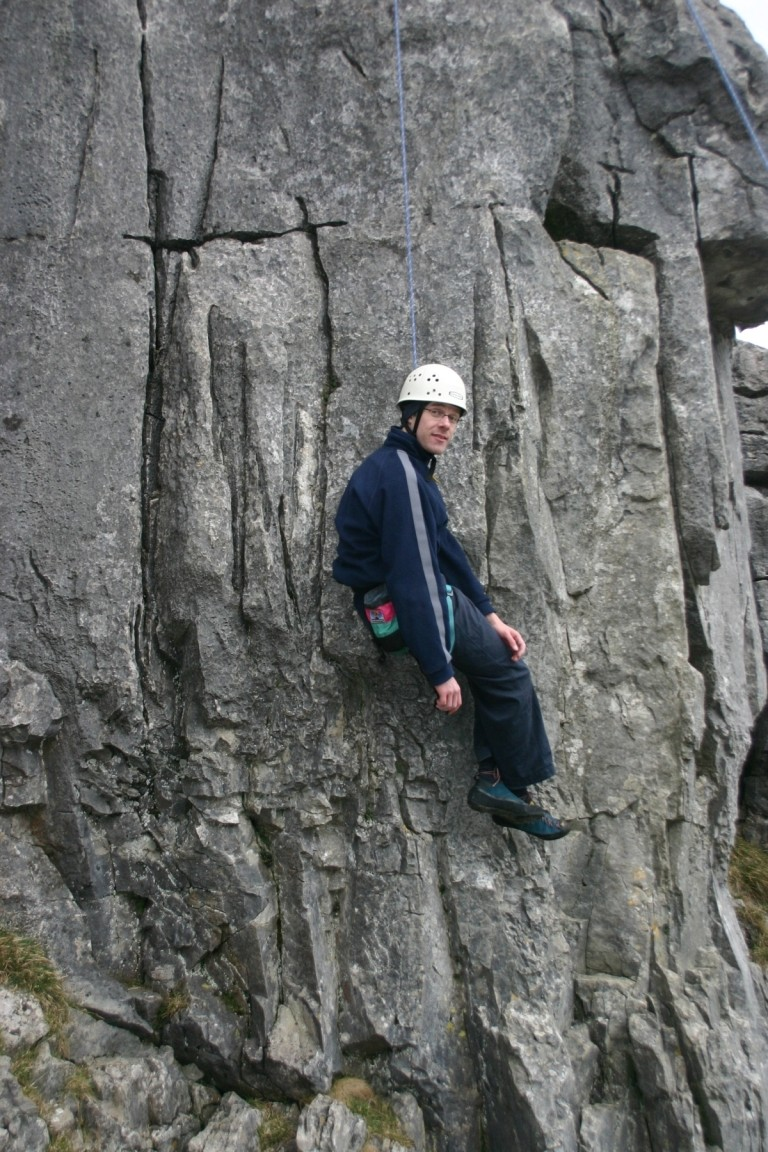 Pete Climbing No Handed, Twisleton Scars