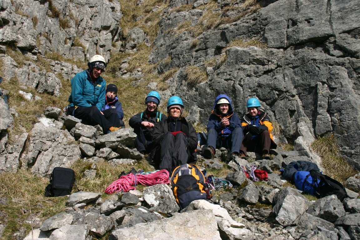 Harold, Lucy, Andy, Jane, Pete And Nic, Attermire Scar