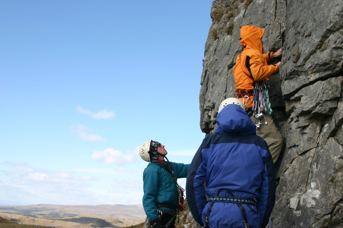 Harold, Pete And Nick, Attermire Scar