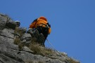 Nic Abseiling And Harold, Attermire Scar