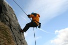 Nic Abseiling, Attermire Scar