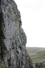 Jane Being Belayed Up A Frightening Cliff, Attermire Scar