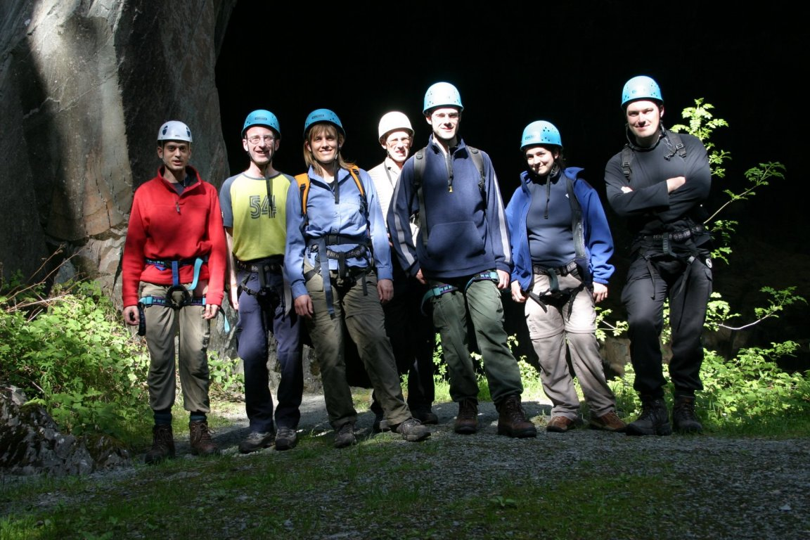 Group Photo, Cathedral Quarry