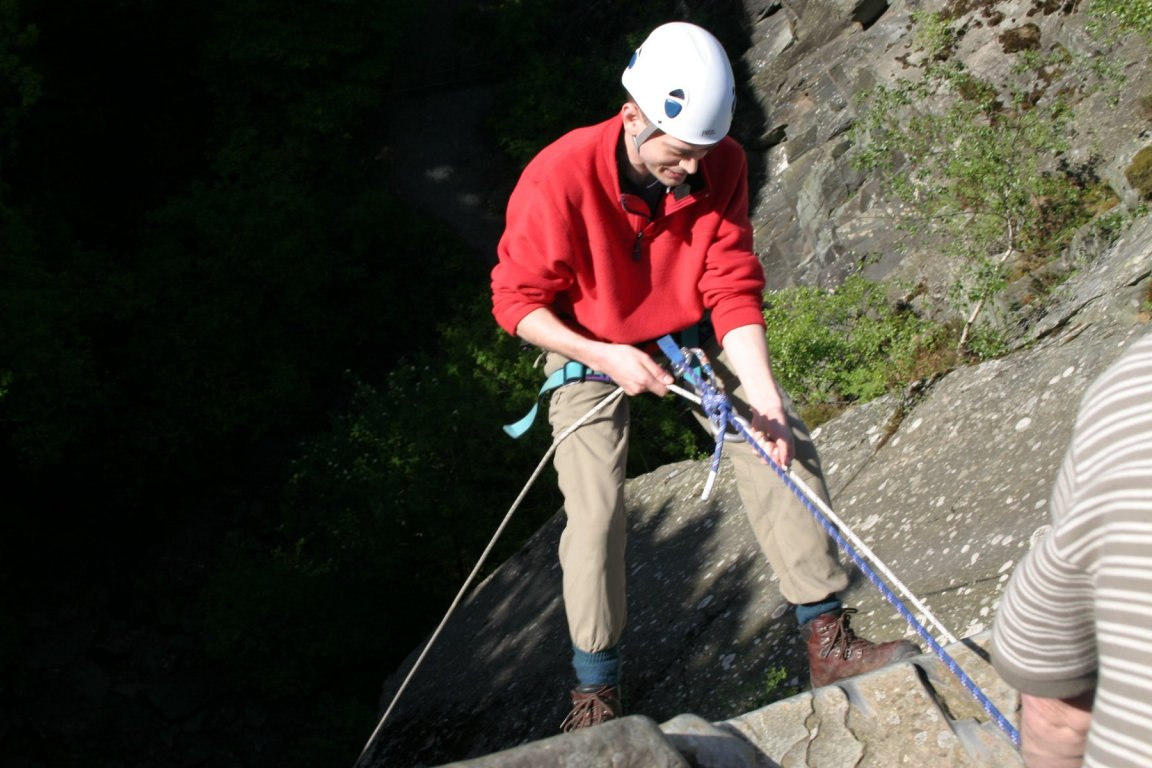 Nick, Cathedral Quarry