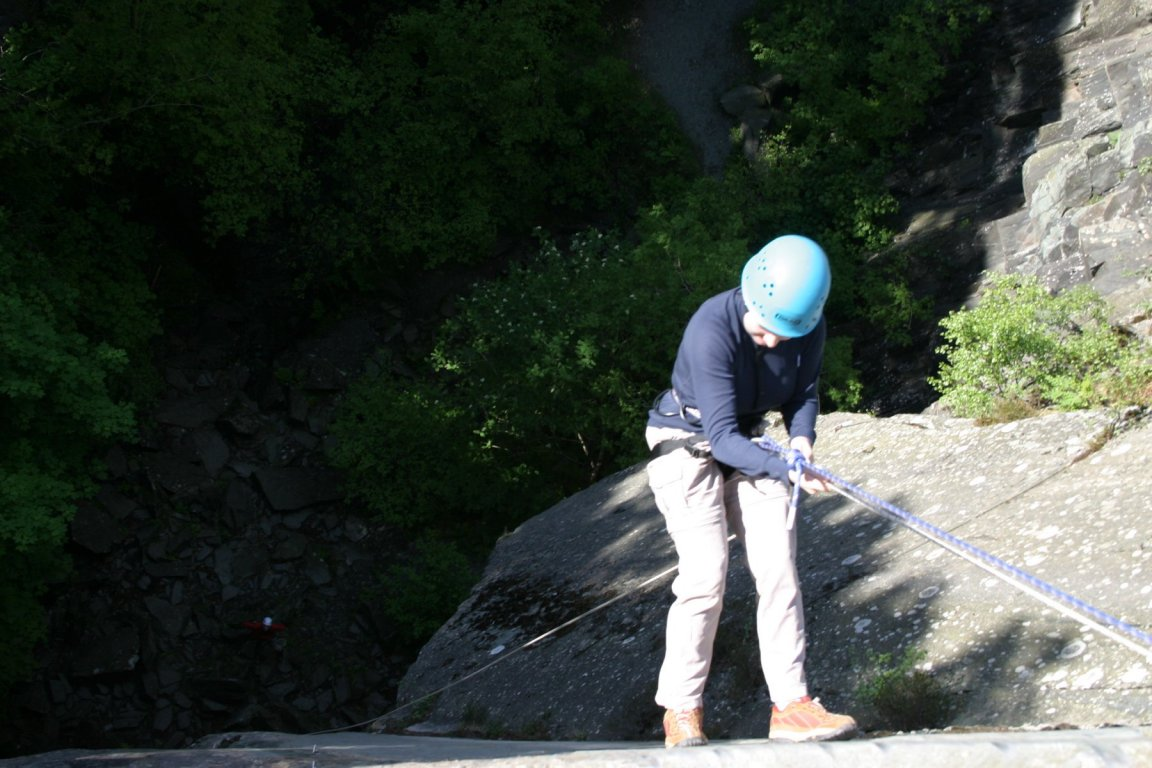 Nic, Cathedral Quarry