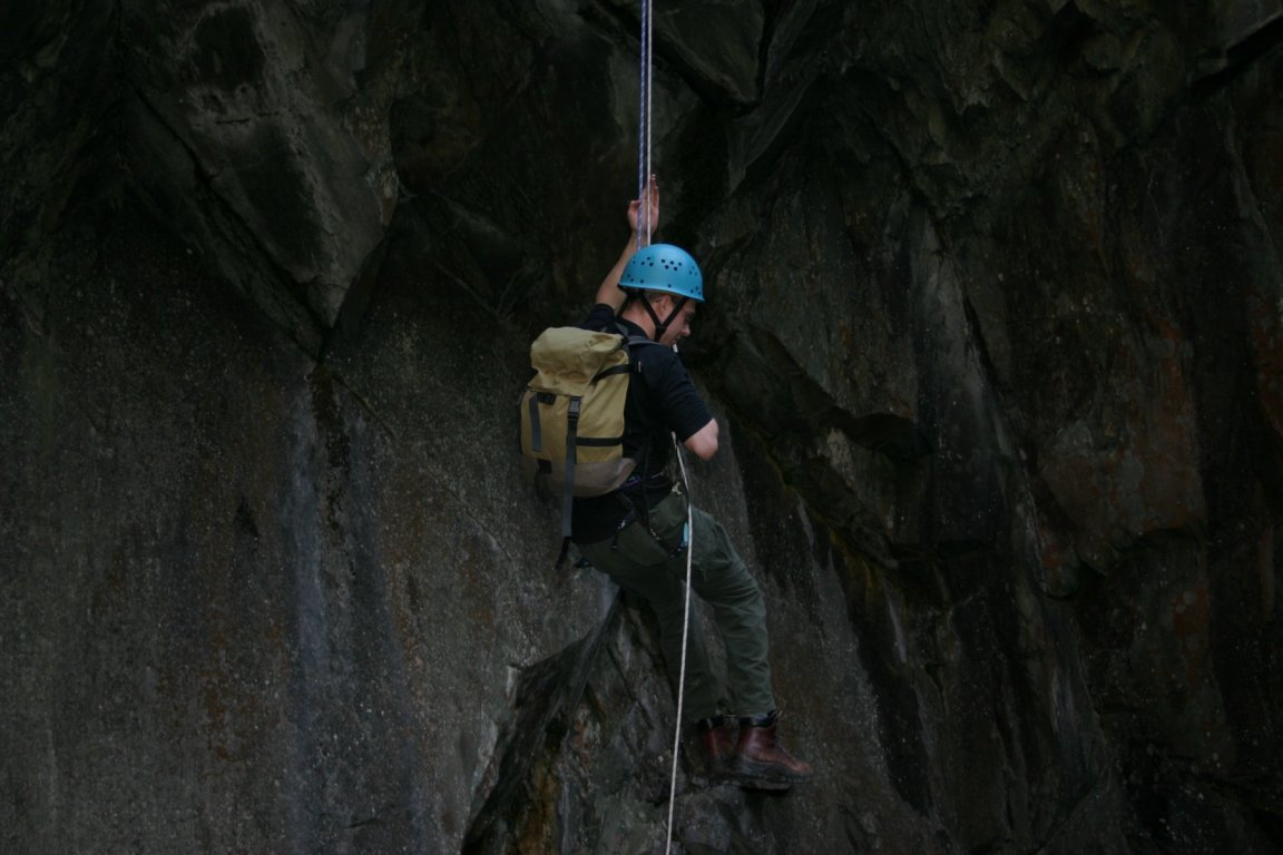 Pete, Cathedral Quarry