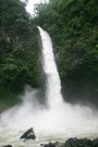 This Waterfall At La Fortuna Was Meant To Be Gentle And Thread Like - I Think It Had Been Raining!