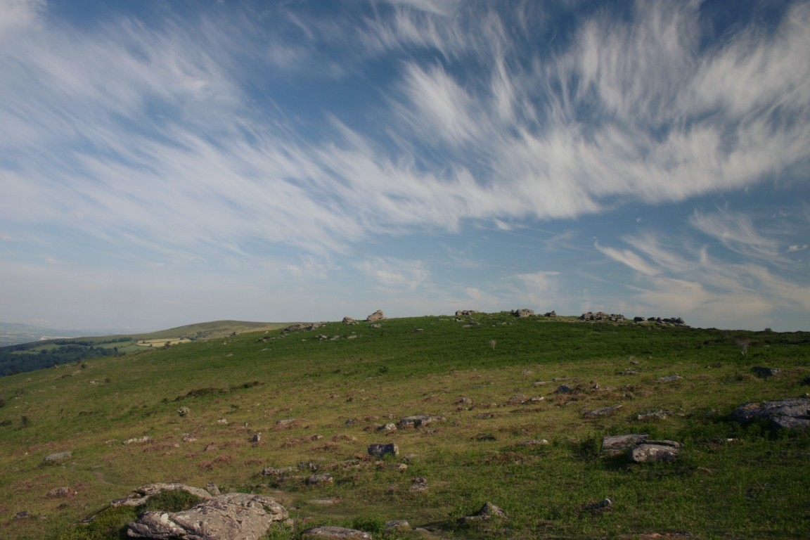 Cool Clouds Over Dartmoor