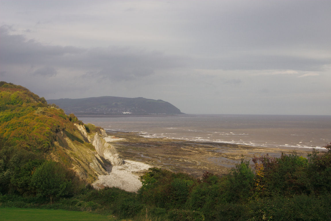 View From Campsite At Watchet