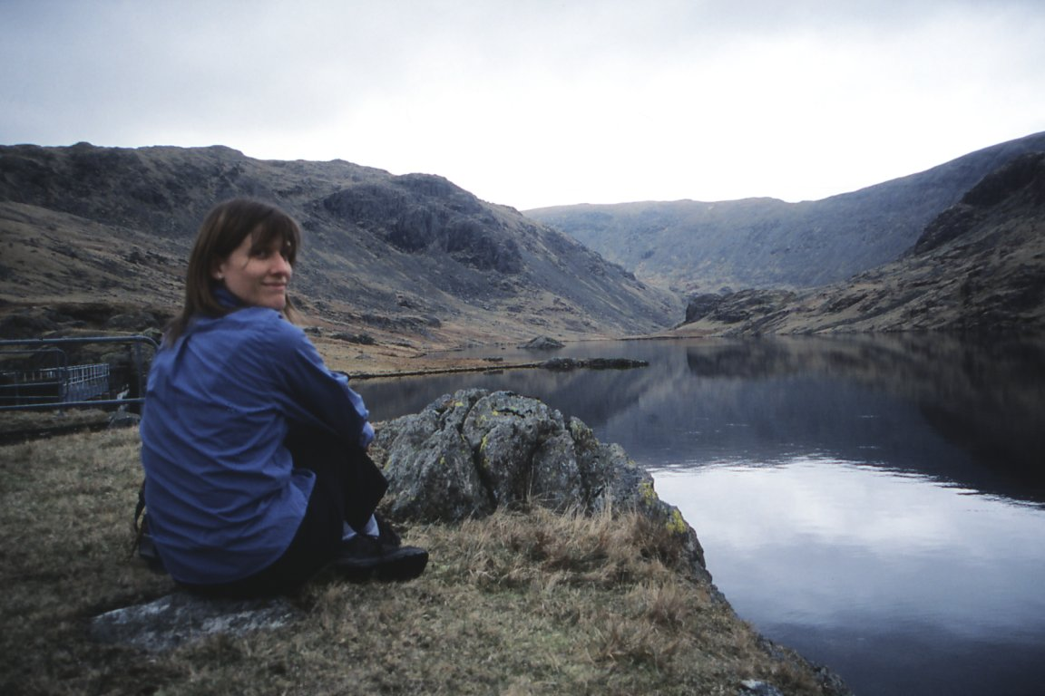 Jane At Seathwaite Tarn