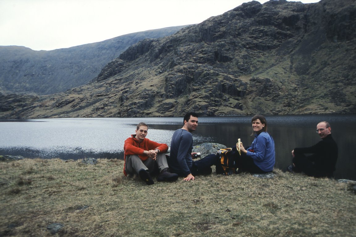 Nick, Rich, Jane And Andy, Seathwaite