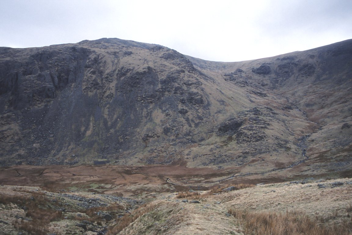 Grey Friar From Near Seathwaite