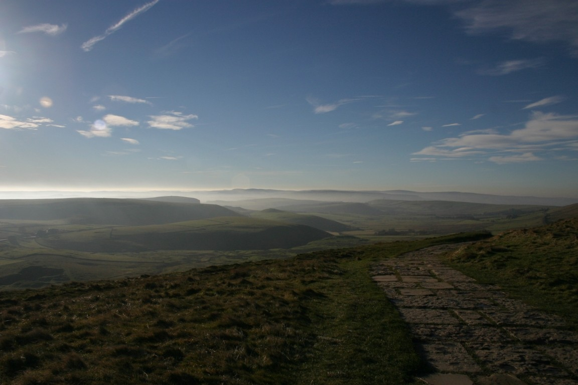 On Mam Tor Looking Westish