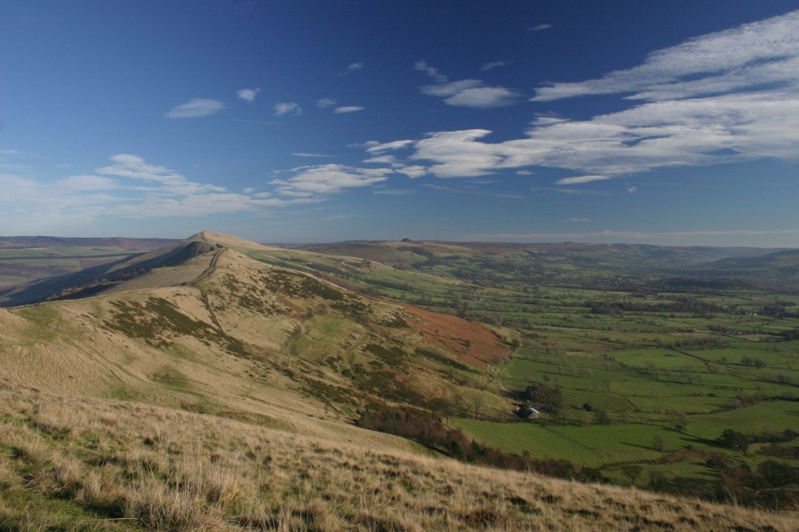 On Mam Tor Looking North Along Ridge