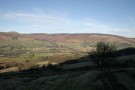 On Way Up Mam Tor, Looking Over Edale