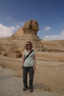 Debbie And Great Sphynx, Giza