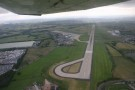 Leeds Bradford Airport Just After Takeoff