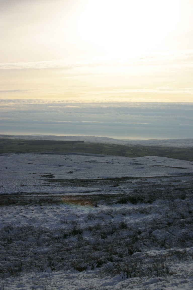 On Way Up Ingleborough