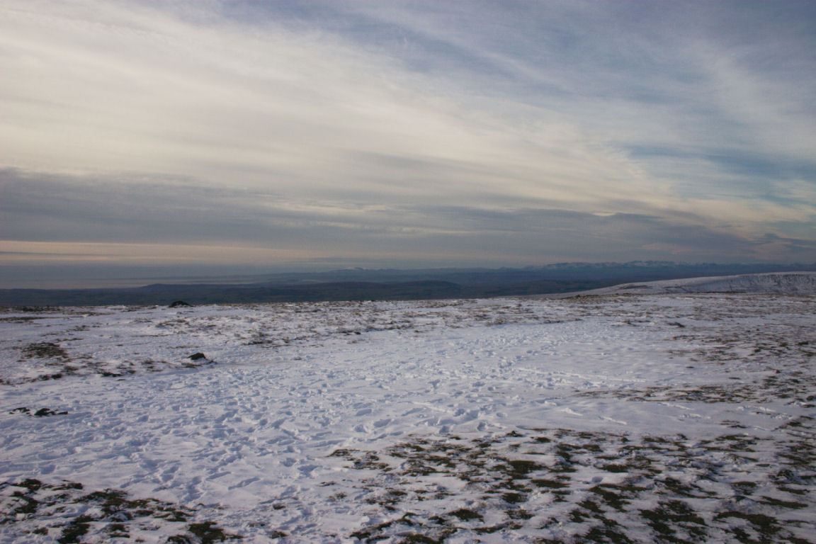 Looking Towards Coast And Lakes From Ingleborough