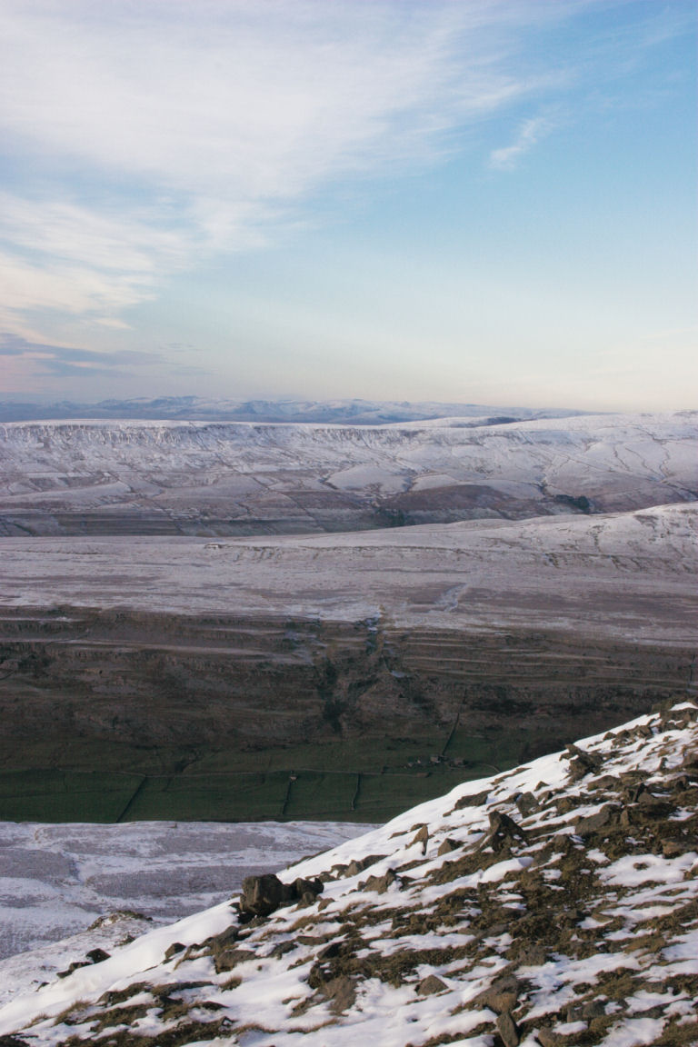 Looking Towards Lakes From Ingleborough