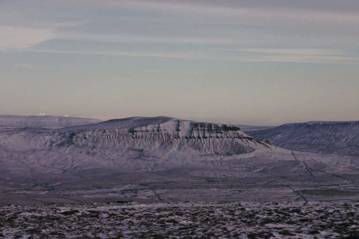 Pen-Y-Ghent, From Ingleborough