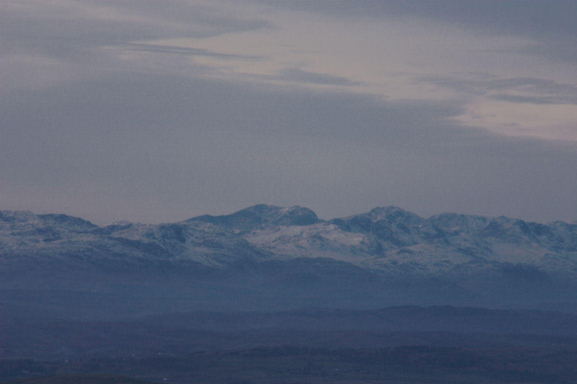 The Scafels From Ingleborough