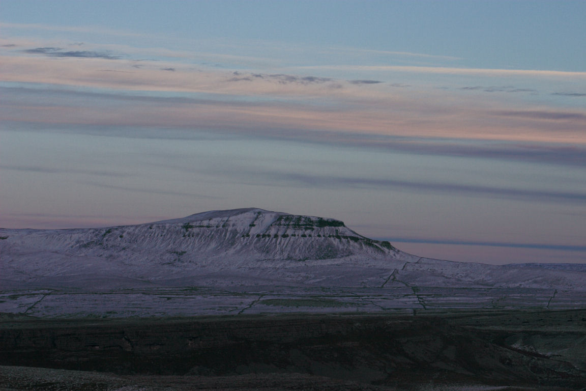 Pen-Y-Ghent, Descending Ingleborough