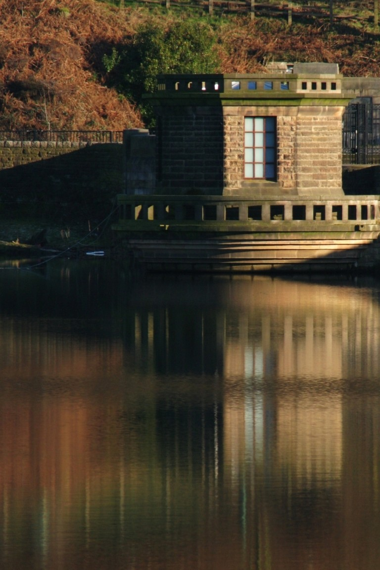 Building On Ladybower Reservoir