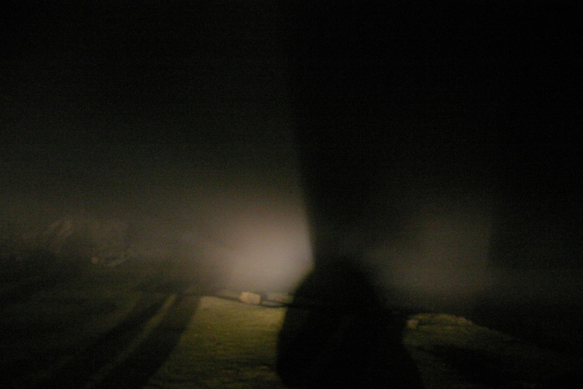 Ghostly Figures In The Fog