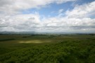 View Towards Edinburgh From Top Of Moorfoot Hills