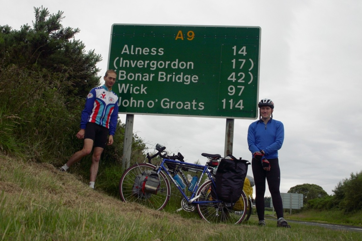 First Sign Of John O'Groats, Near Inverness
