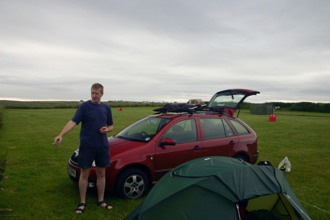 Nick And Skoda, Our Saviours At John O'Groats