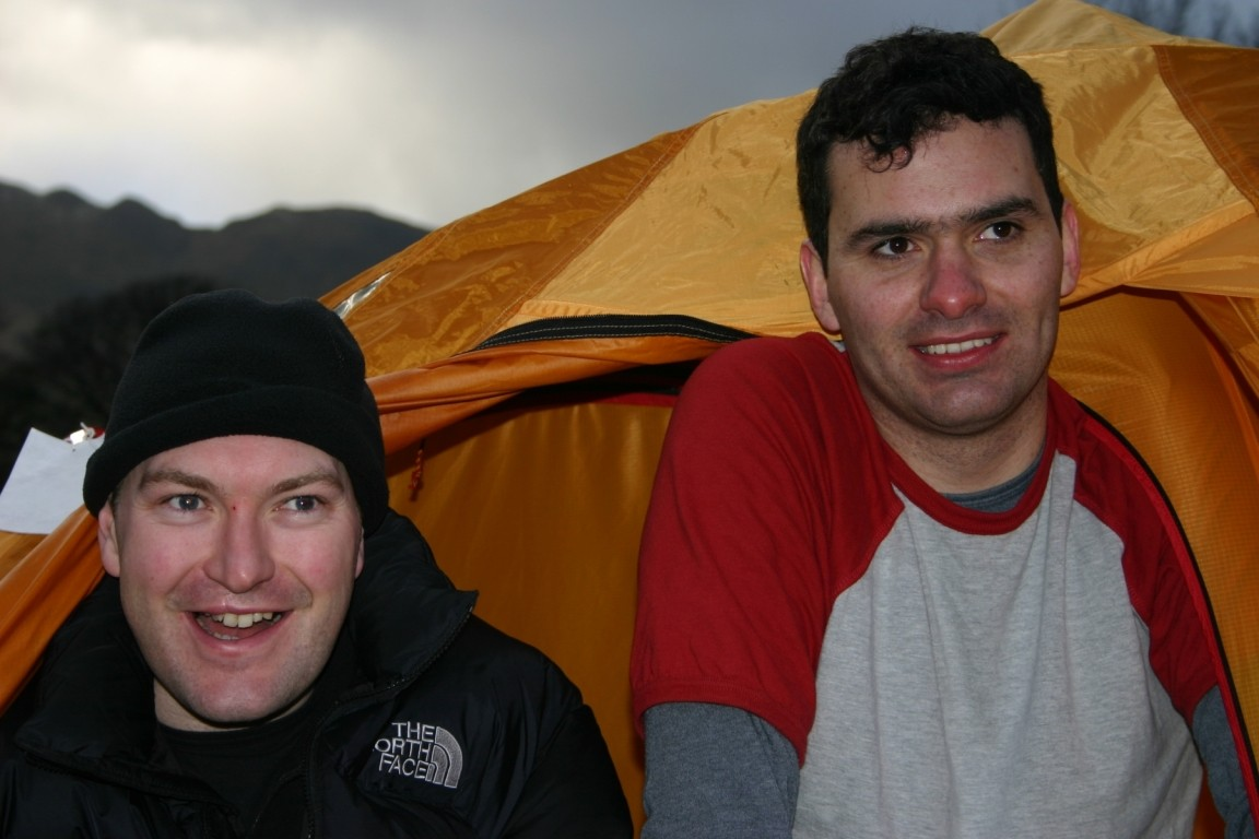 Will, Rich, Great Langdale Campsite