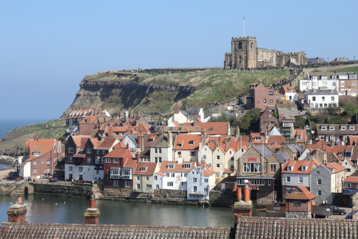 View from Holiday Cottage, Whitby