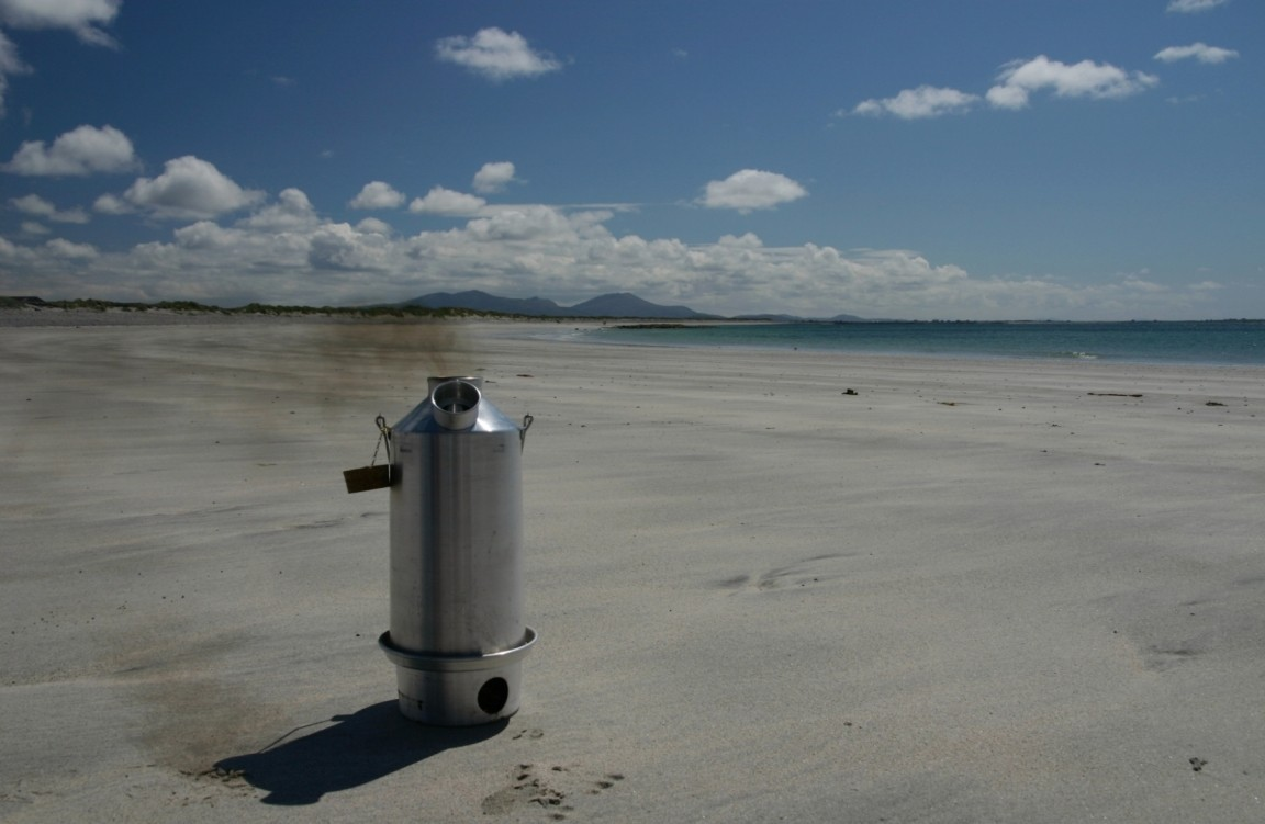 Kelly Kettle, Benbecula